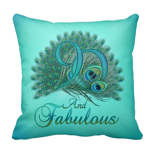 90th Birthday Pillow for Grandma