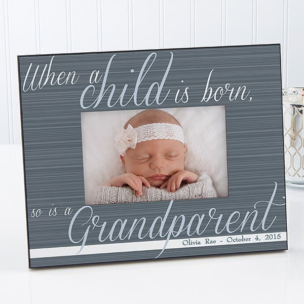 Personalized New Grandparent Picture Frame