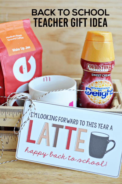 Back to School Coffee Gift for Teachers