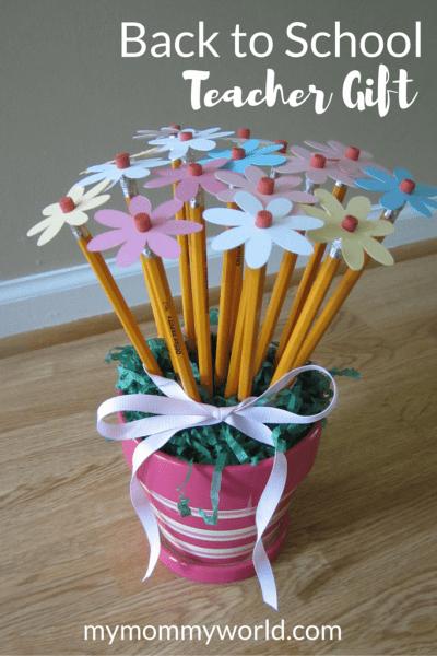 Pencil Flower Vase for Teachers