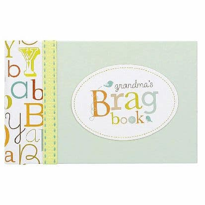 Grandma Brag Book - What grandmother doesn't love showing off pictures of her grandchildren?  Make it easy with a cute Grandma brag book!