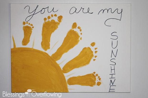 You-Are-My-Sunshine-Footprint-Art