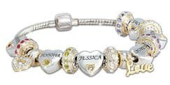 Delight Grandma This Christmas With Stylish Personalized Birthstone Bracelet That Features Each Of Her Grandchildren