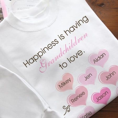 Happiness is Having Grandchildren to Love Shirt