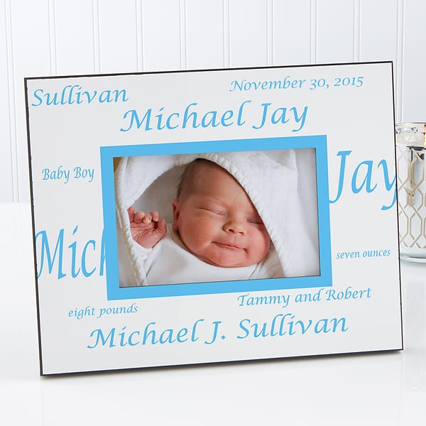 Personalized New Grand Baby Picture Frame