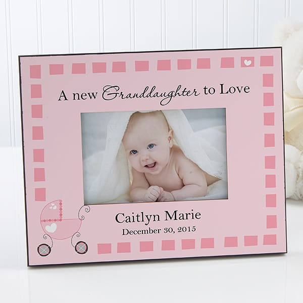 Personalized New Grandchild Picture Frame