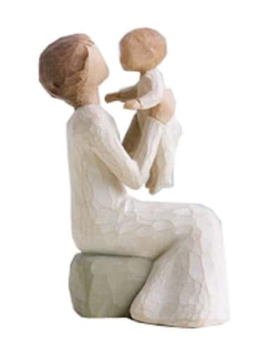 Willow Tree Grandma and Granchild Figurine