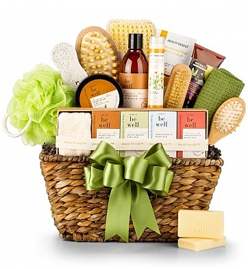 Organic Spa Gift Basket - Christmas Gifts for New Moms