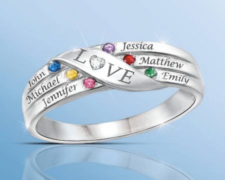 Love Holds Our Family Together Ring