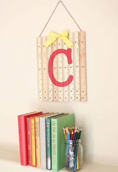 Back to School Ruler Hanging for Teachers