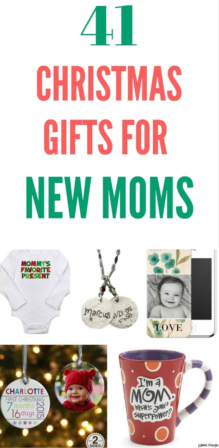 Christmas Gifts for New Moms - Love this collection of delightful Christmas gift ideas for new mothers!