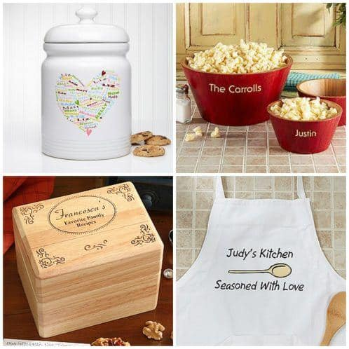 Need a fabulous Christmas gift for your mother in law? If she enjoys cooking, delight her with a personalized gift for her kitchen!