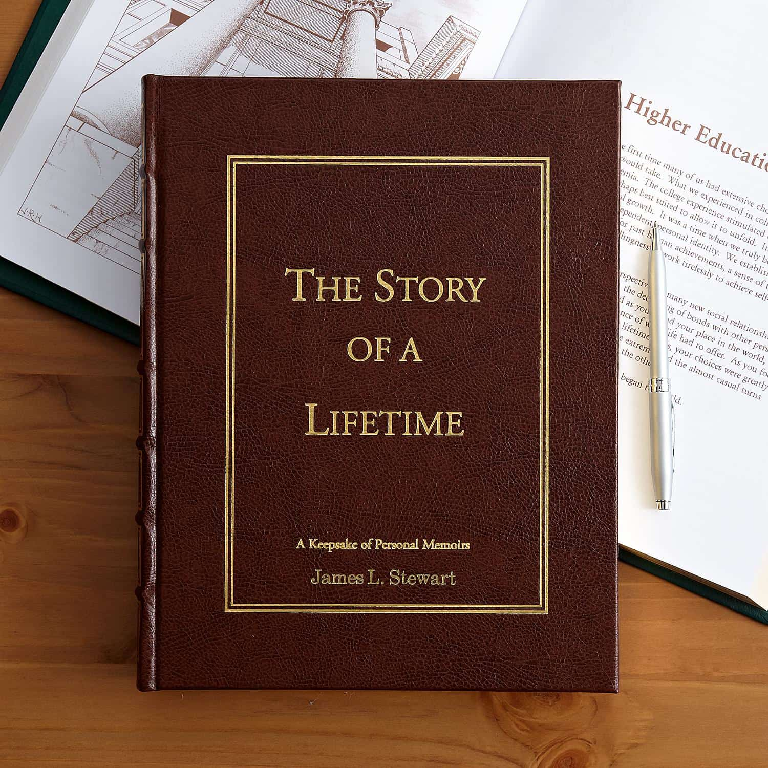 Story of a Lifetime Memory Book