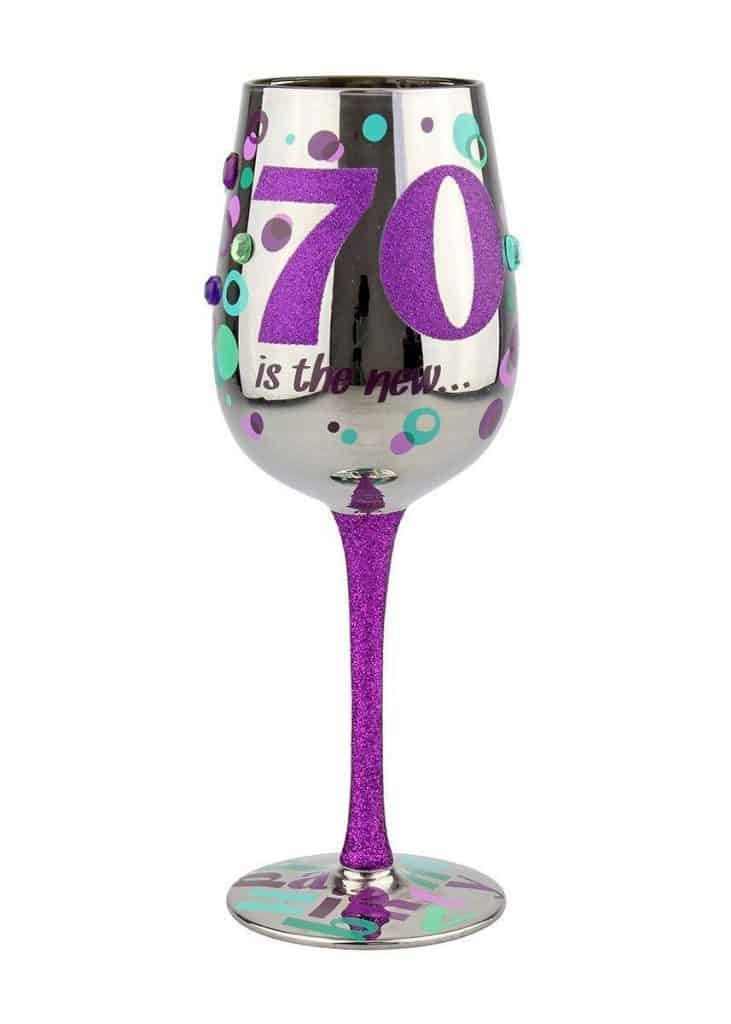 Painted Wine Glasses For Grandma