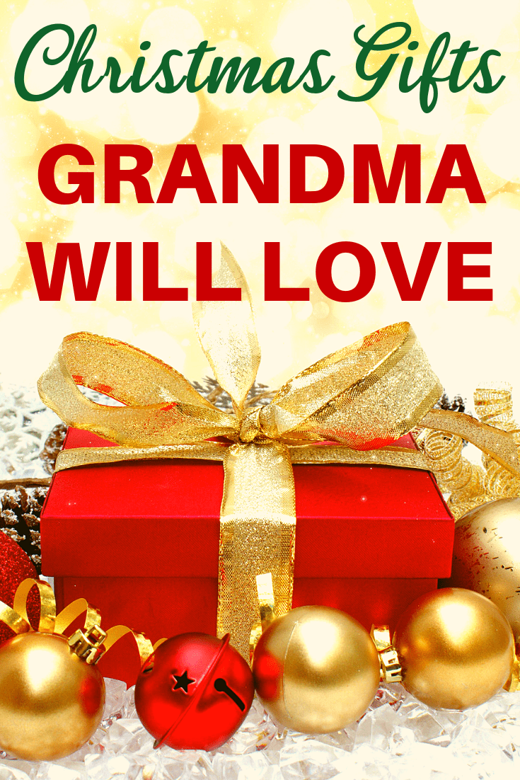 Christmas Gifts Grandma will love - Looking for the perfect Christmas gift ideas for your grandmother?  Click to see over 50 Christmas gifts that will delight Grandma.  Prices start at under $20, so you can find a gift she'll love even if you're on a strict budget.