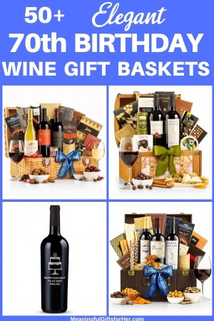 Birthday Wine Gift Baskets - Looking for an elegant birthday gift basket? Thrill someone special with one of these delightful wine gift baskets...prices start at under $50!