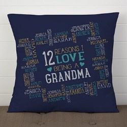 Reasons Why Pillow with Up to 30 Names