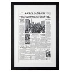 NY Times Front Page Reprint from The Day You Were Born