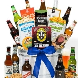 Beer Gift Basket - Choice of Styles