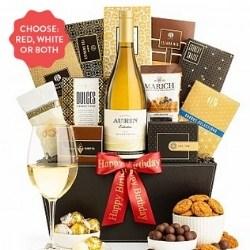 California Wine Gift Basket - Ships Free