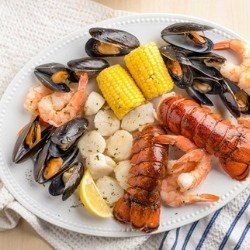 Effortless Lobster Bake for Two Gift Basket