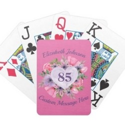 Personalized Playing Cards - Choice of Styles