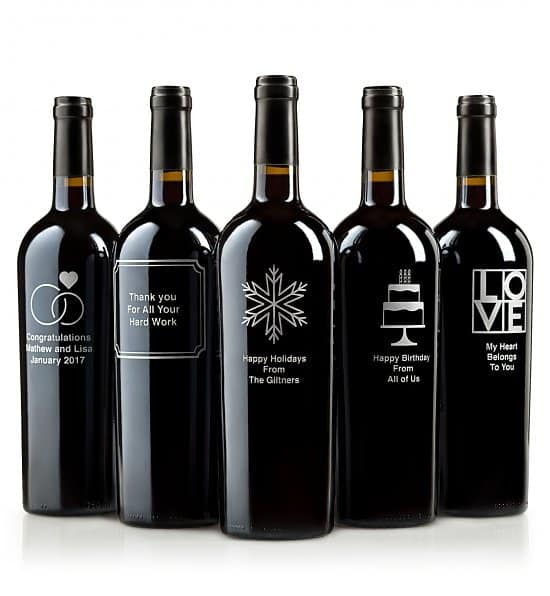 Looking for a unique present for the 85 year old who has everything?  Impress them with a personalized bottle of wine!